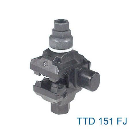 Ответвительный зажим с двусторонним прокалыванием изоляции TTD151 SICAME, фото 2