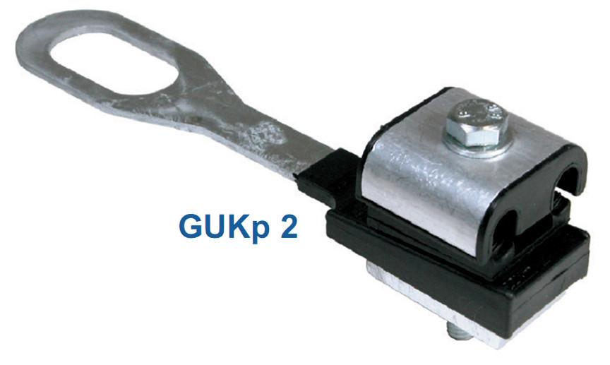 Натяжной зажим для ответвительных линий GUKp2 (2*35-2*35) SICAME