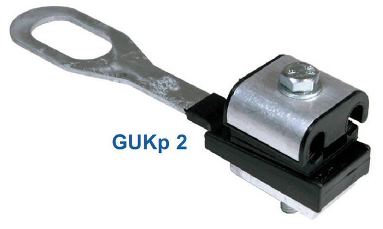 Натяжной зажим для ответвительных линий GUKp2 (2*35-2*35) SICAME , фото 2