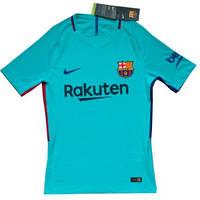 Игровая футболка Барселоны. Сезон 2017-2018 (реплика VIP качества,голубая), фото 1
