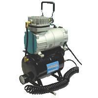 Миникомпрессор низкого давления с ресивером, регулятором и шлангом 1/8 HP SUMAKE MC-1100THRGM