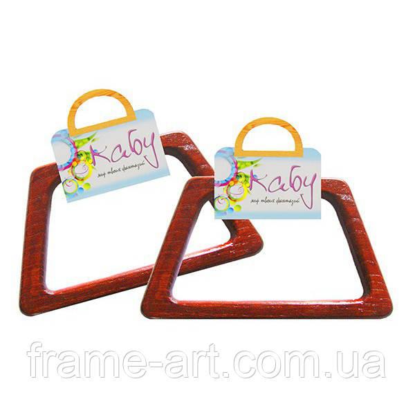 Ручки для сумок PASSION РМ-13Ф красное дерево/махагон