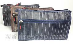 Чоловіча сумочка прямокутна два відділу