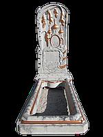 Памятник бетонный, комплект Береза