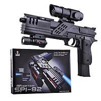 Детский пистолет SP1-82, пластиковые пули