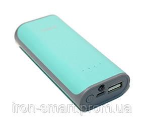 Универсальная мобильная батарея 5200 mAh, Hoco B21, Green
