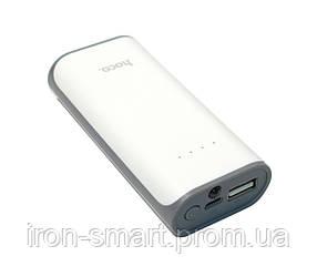 Универсальная мобильная батарея 5200 mAh, Hoco B21, White