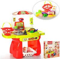Детский магазин 1523 прилавок, продукты, корзинка, 13 предметов, в кор-ке, 56-56-9,5см