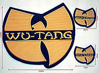 Комплект нашивок патчей Wu-Tang