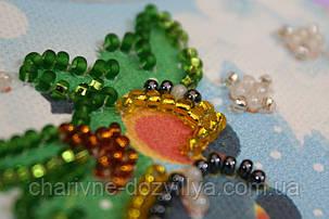 Набор для вышивки бисером магнит  На веточке-1, фото 2