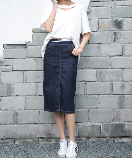 Джинсовая юбка Yuliya CC8421