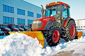 Снегоуборочные работы в Киеве и Киевской области