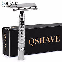 Qshave RD 729 - cтанок для бритья классический серебристый