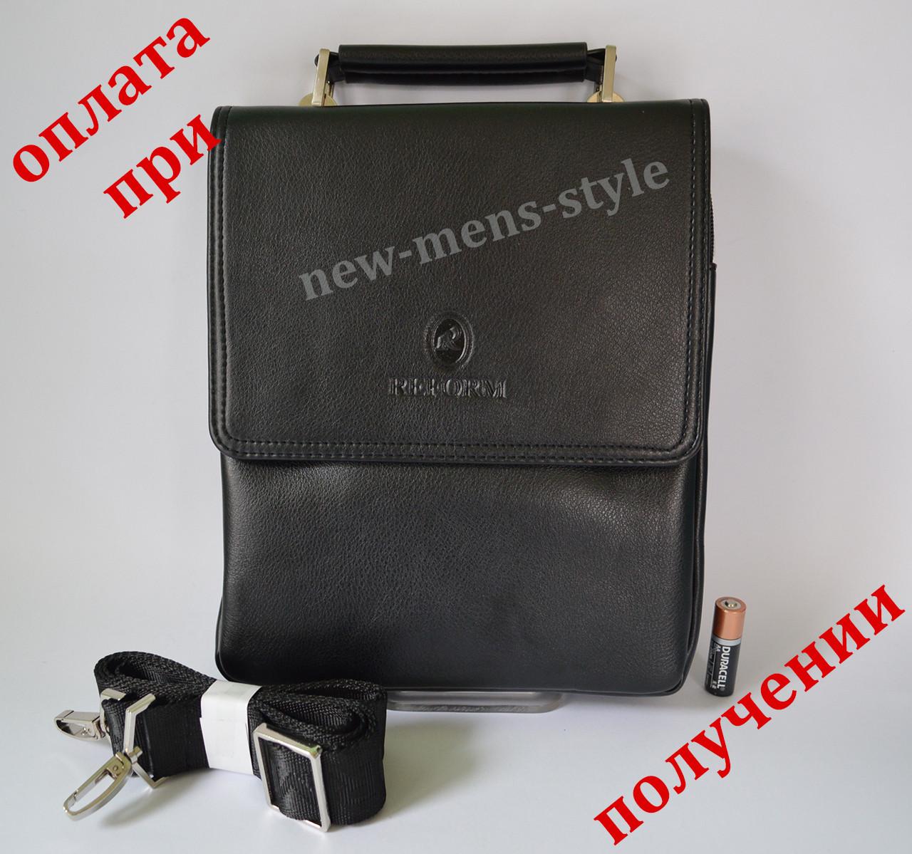 Чоловіча шкіряна фірмова сумка барсетка REFORM Polo купити