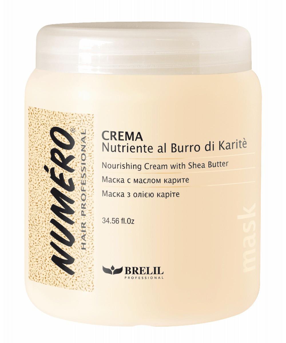 Крем для волос NUMERO питательный с маслом каритэ и маслом авокадо 1000ml