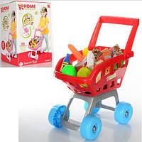Детская игрушечная тележка  668-06-07 Супермаркет