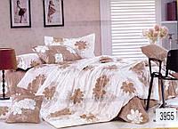 Комплект постельного белья полуторный  Elway 3955 cатин