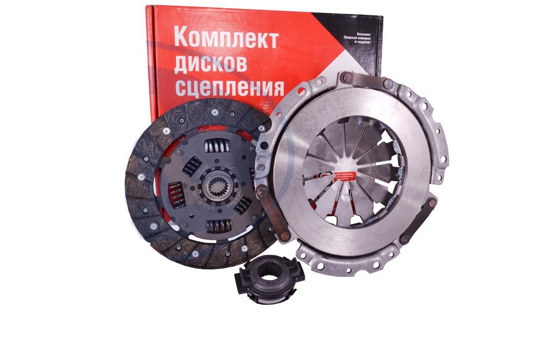 Комплект сцепления ВАЗ 2110, 2111, 2112 для 8-кл двигателя