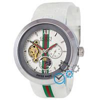 Часы наручные женские Gucci Pantcaon White-Silver-White