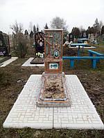 Памятник бетонный, комплект Собор
