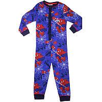 Слип Спайдермен Человек Паук, сдельная пижама для сна, хлопок 1-5 лет