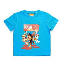 Детская футболка PAW Patrol (Щенячий патруль) на мальчиков 2, 6 лет ТМ ARDITEX PW11166 голубой