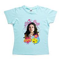 Детская футболка Soy Luna (Я Луна) на девочек 6-10 лет (100% хлопок) ТМ ARDITEX WD11297 голубой, фото 1