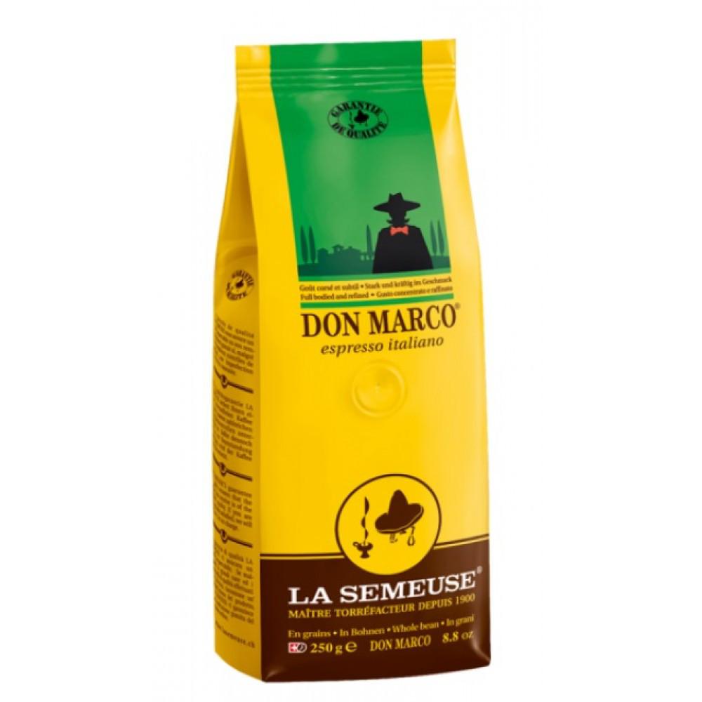 Кофе в зернах La Semeuse Don Marco 250 г
