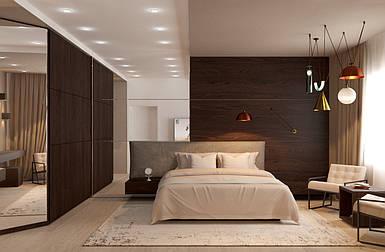 Дизайн спальни Cleaf