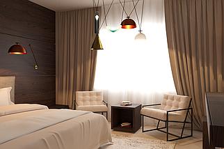 Дизайн спальни Cleaf, фото 3