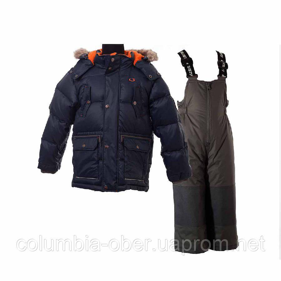 Зимний костюм пуховой Gusti Boutique GWB 4607. Размеры 98 - 164.