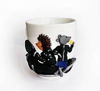 Декор чашки для любящих и любимых Подарок паре сувенирная кружка Свободны как ветер, фото 1