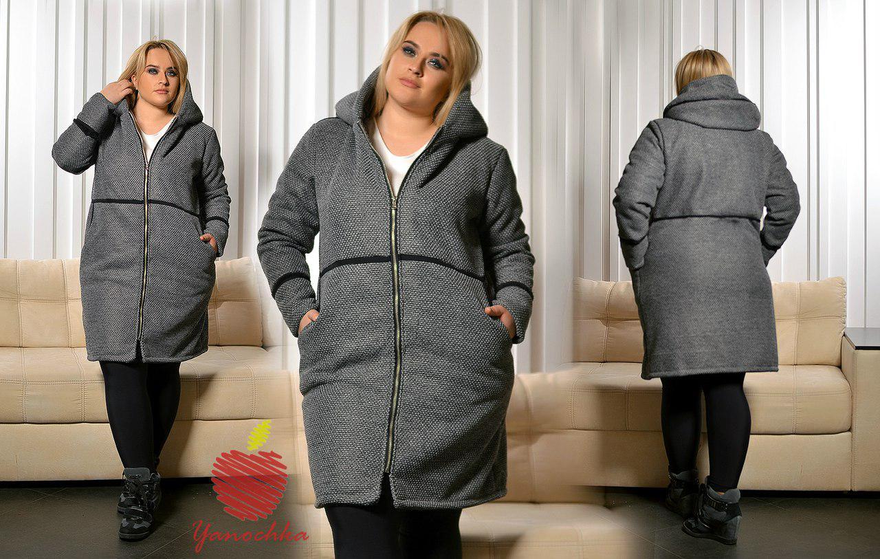 Вязание пальто на 50 размер