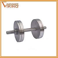 Гантели стальные разборные наборные 2х14 кг (общий вес 28 кг)