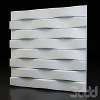 """Пластиковая форма для 3d панелей """"Параллель"""" 50*50 (форма для 3д панелей из абс пластика)"""