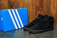 Мужские кроссовки Adidas Tubular Invader (Адидас Тубулар) черные