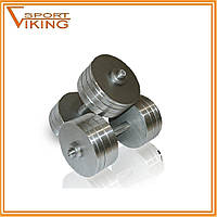 Гантели стальные наборные разборные 2х30 кг (общий вес 60 кг), фото 1