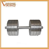 Гантели наборные разборные 2х36 кг (общий вес 72 кг)