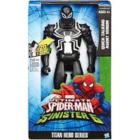 """Электронная фигурка """"Человек-паук: Титаны"""" - Агент Веном (звук), 30 см"""