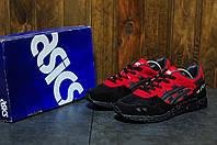 Мужские кроссовки Asics Gel Lyte 5 (Асикс) черно-красные