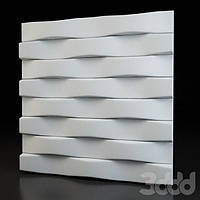 "Пластикова форма для 3d панелей ""Паралель"" 50 * 50 (форма для 3д панелей з абс пластика)"