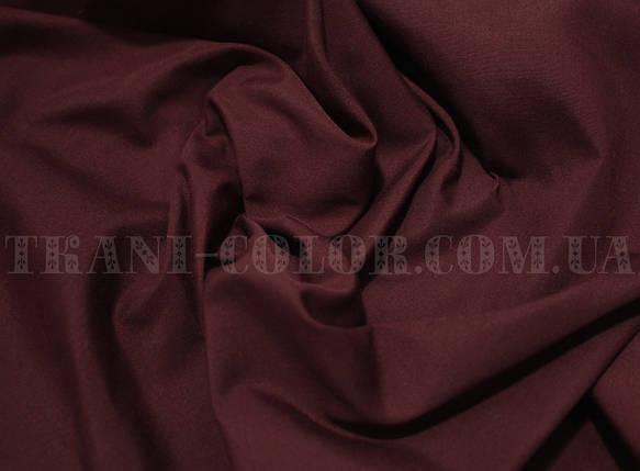 Рубашечная ткань бордовая, фото 2
