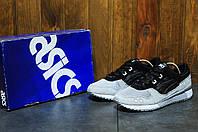 Мужские кроссовки Asics Gel Lyte 5 (Асикс) черно-серые