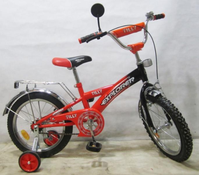 Детский двухколесный велосипед EXPLORER 14 дюймов T-21415