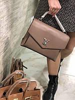 Жіноча сумочка LOUIS VUITTON my lockme коричнева (репліка), фото 1