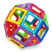 Умный магнитный конструктор, 3D, Mag-Cube 112 деталей + подарок
