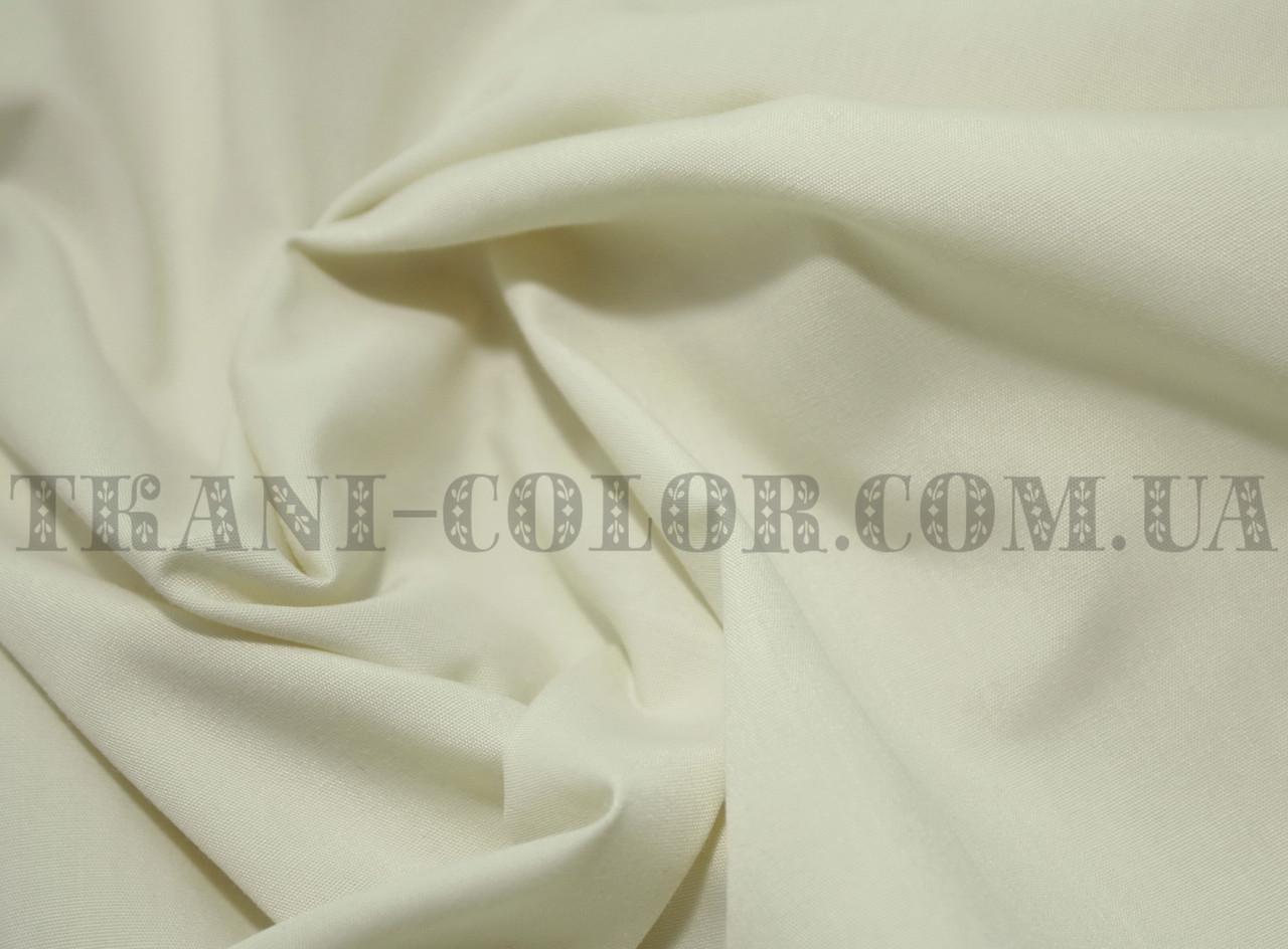 Рубашечная ткань бежевая