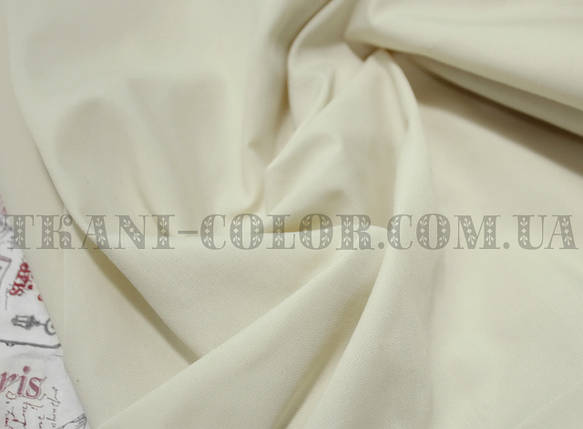 Рубашечная ткань бежевая, фото 2