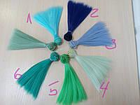 Волосы для куклы ( тресс ), 1 м Яркие цвета