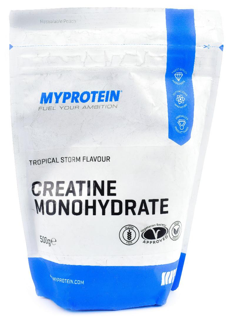 Креатин MyProtein Creatine Monohydrate 500 g со вкусом
